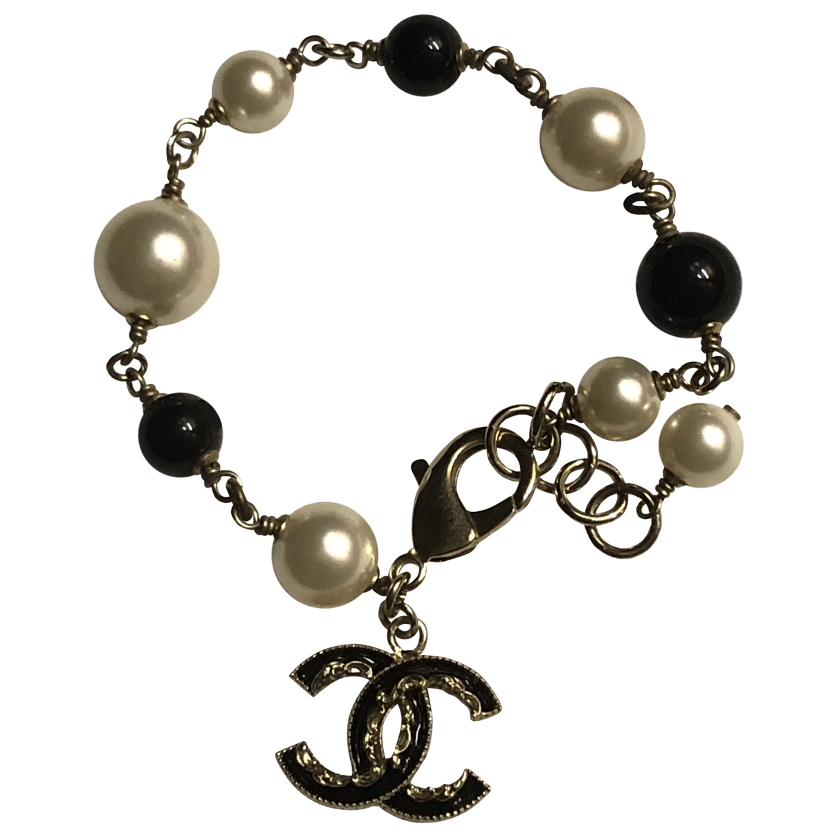 Chanel CC Armband in Metall