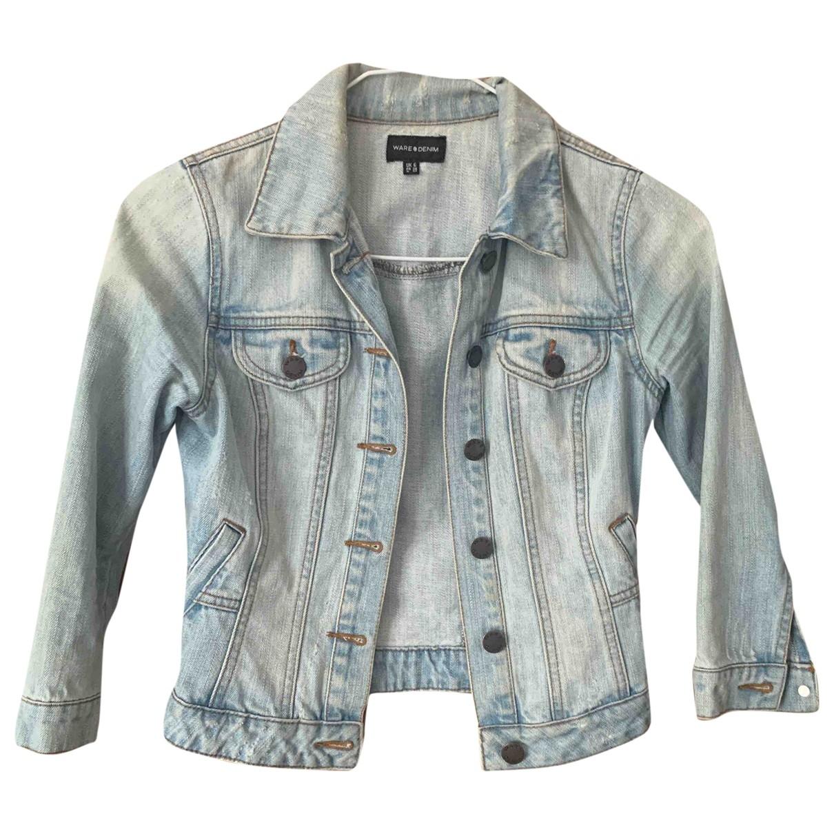 Non Signé / Unsigned \N Blue Denim - Jeans jacket for Women 6 UK