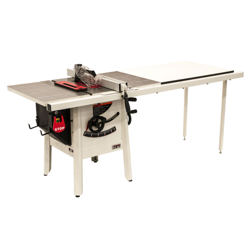 1-3/4HP 1PH 115V ProShop II Table Saw with Stamped Steel Wings and 52