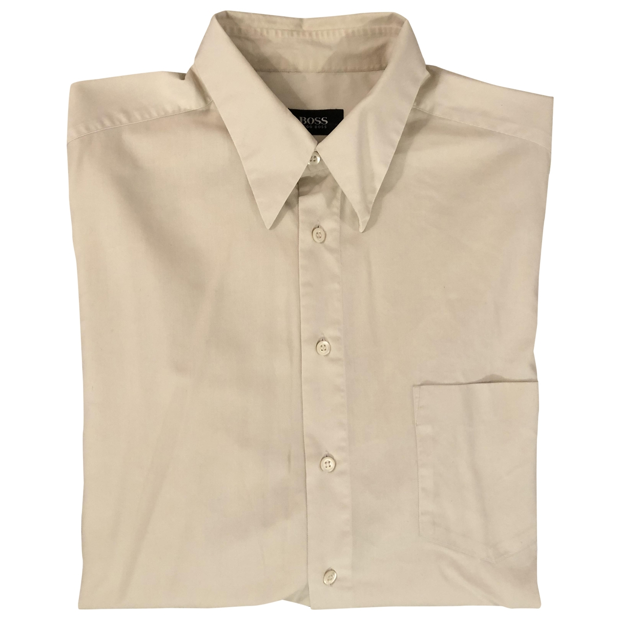 Boss \N Hemden in  Beige Baumwolle