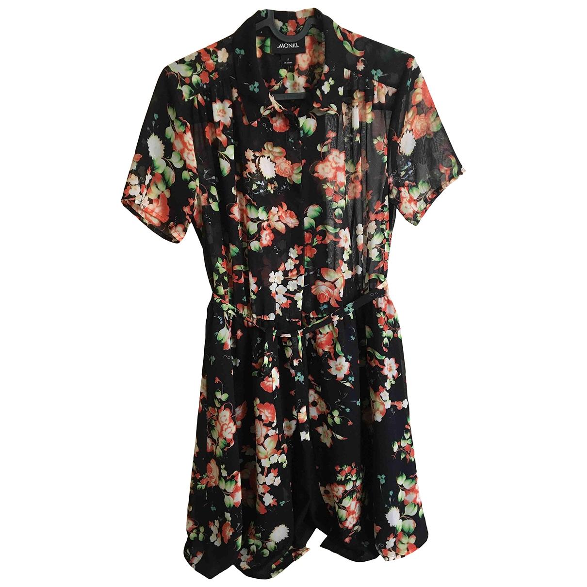 Monki \N Kleid in  Schwarz Polyester