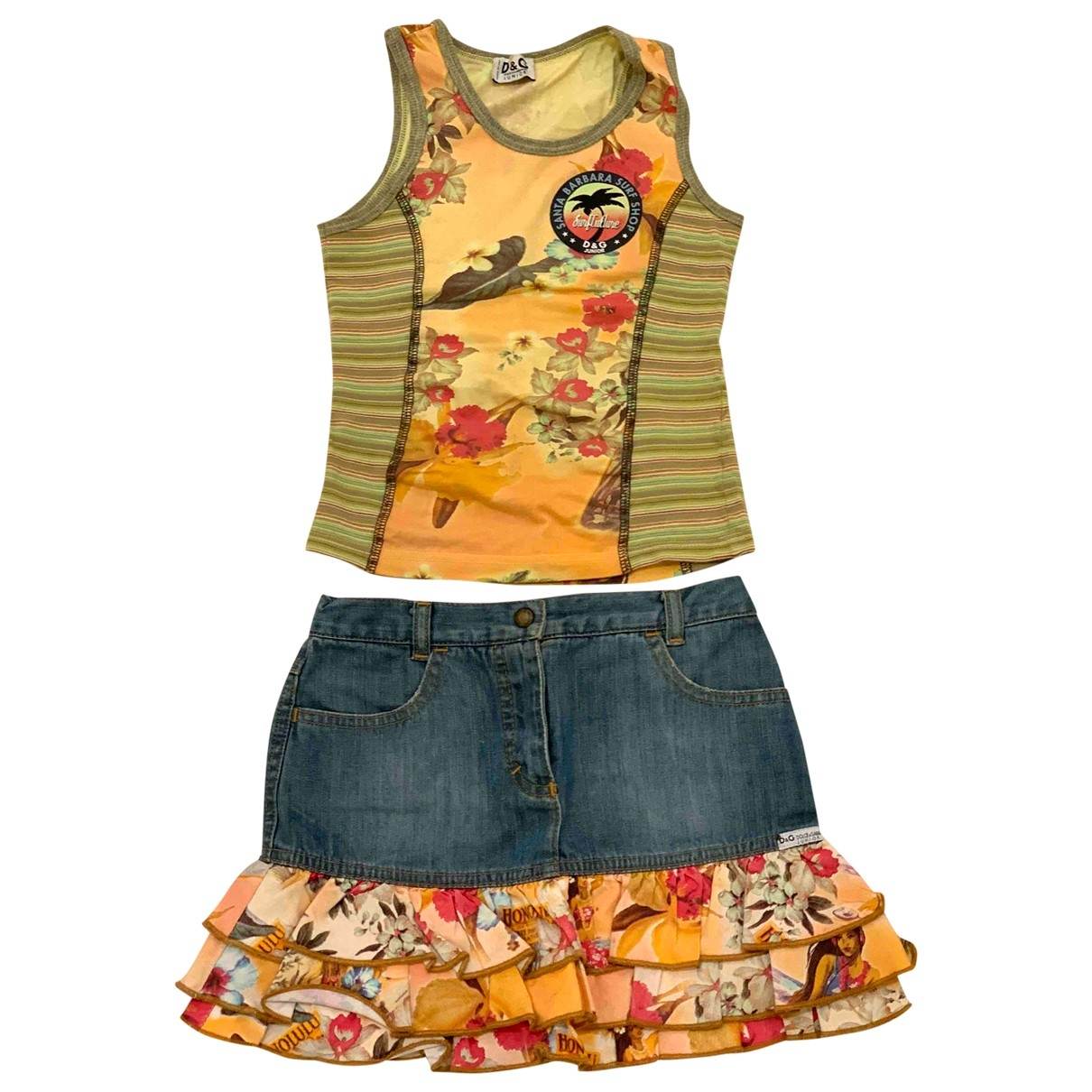 D&g \N Orange Denim - Jeans Outfits for Kids 6 years - up to 114cm FR