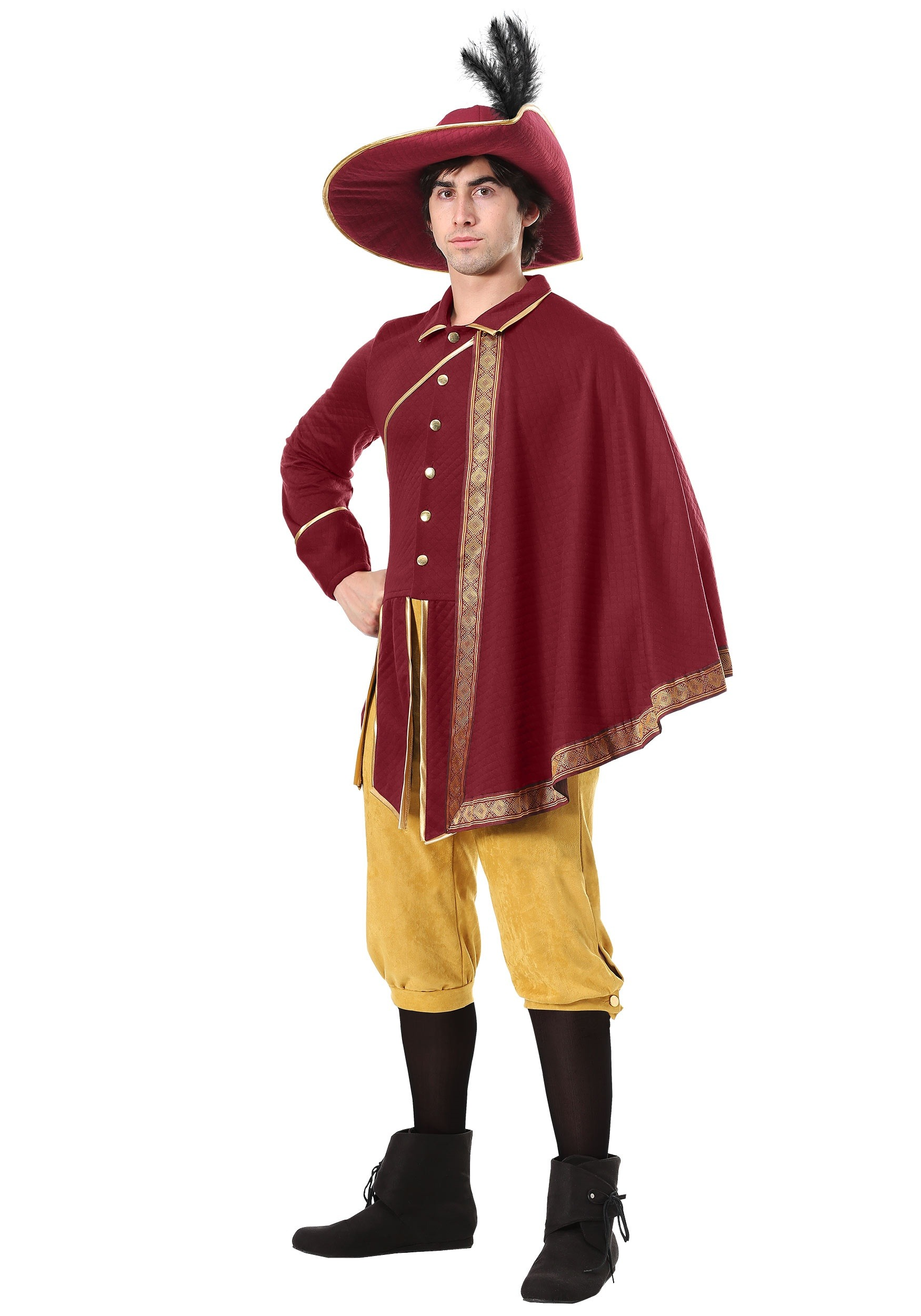 Noble Man Renaissance Costume for Adults
