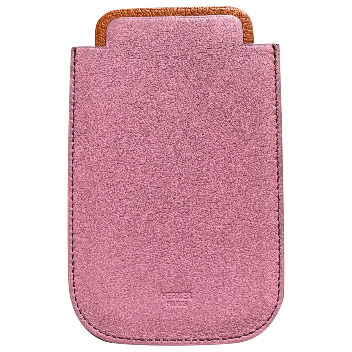 Hermès \N Pink Leather Accessories for Life & Living \N