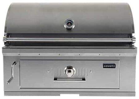 C1CH36 Charcoal Hybrid Grill with Premium stainless