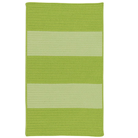Colonial Mills Mayfield Textured Tone Braided Rectangular Reversible Indoor/Outdoor Rugs, One Size , Green
