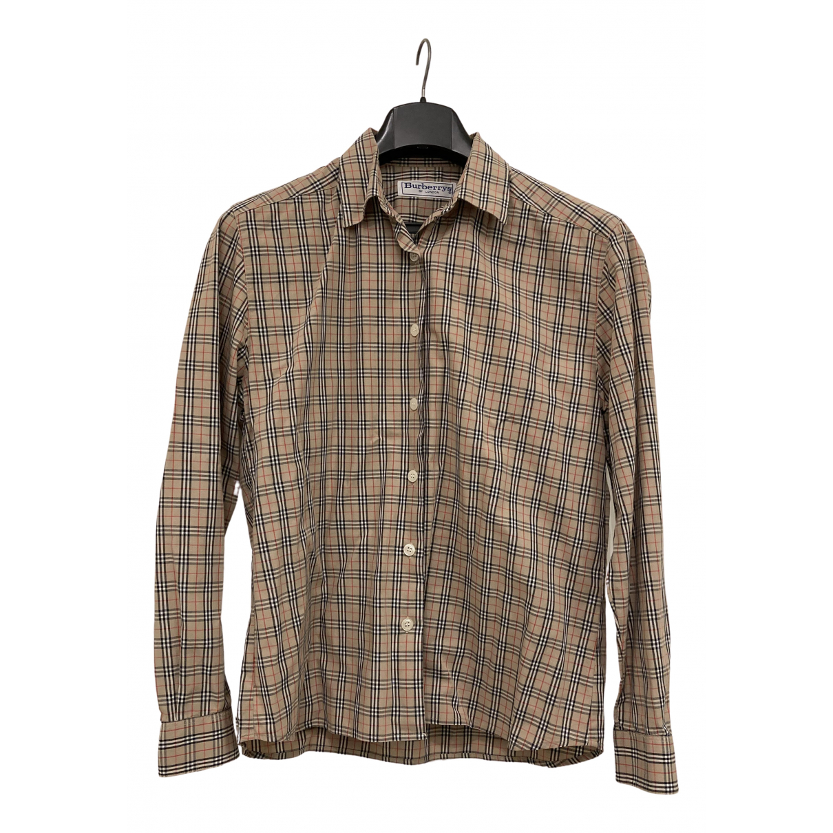 Burberry N Camel Cotton  top for Women 42 IT