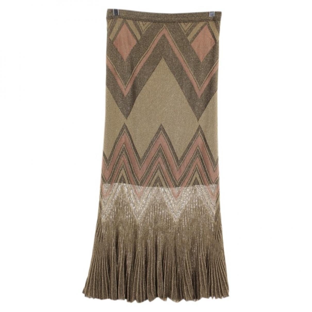 Roberto Cavalli \N Metallic skirt for Women 34 FR
