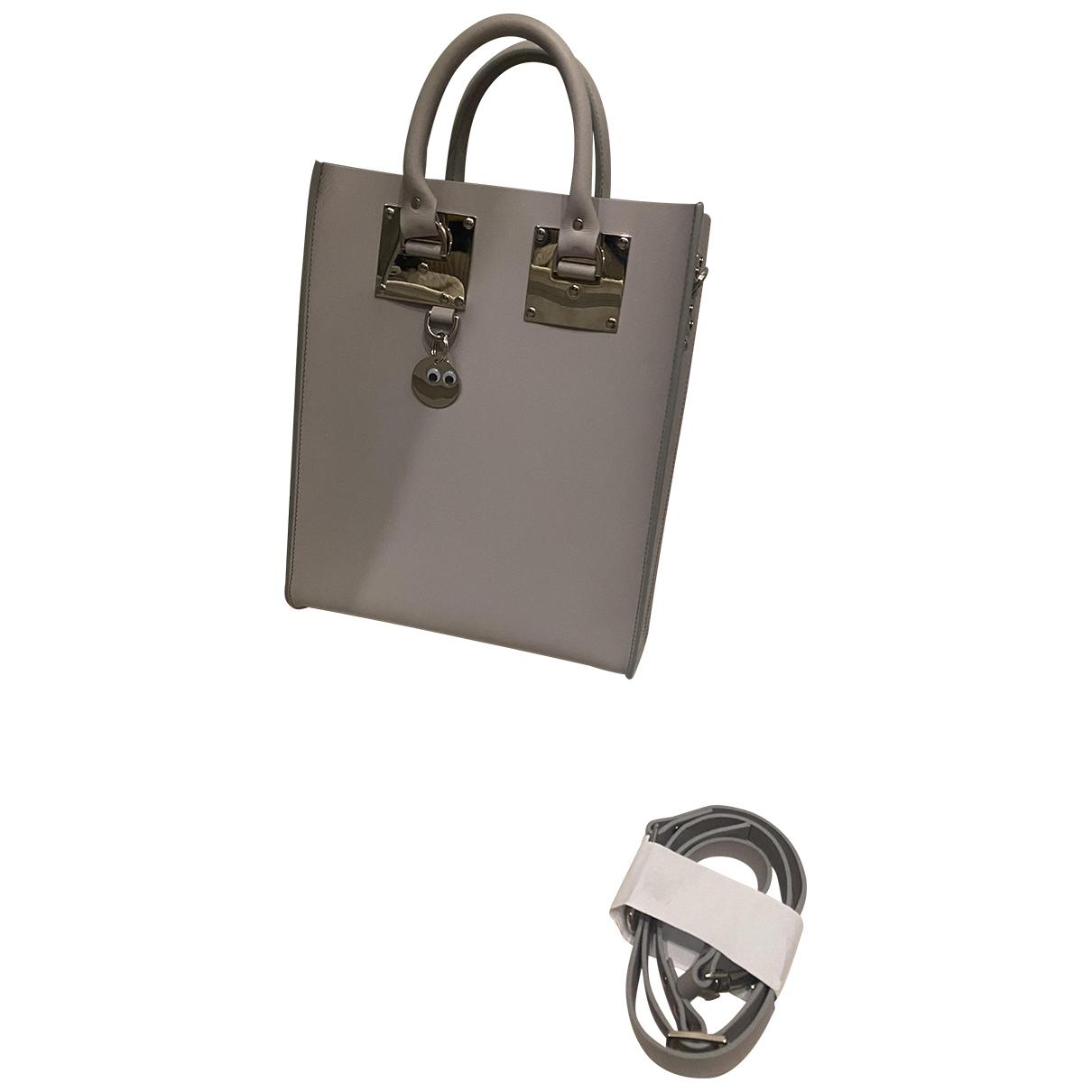 Sophie Hulme \N Grey Leather handbag for Women \N