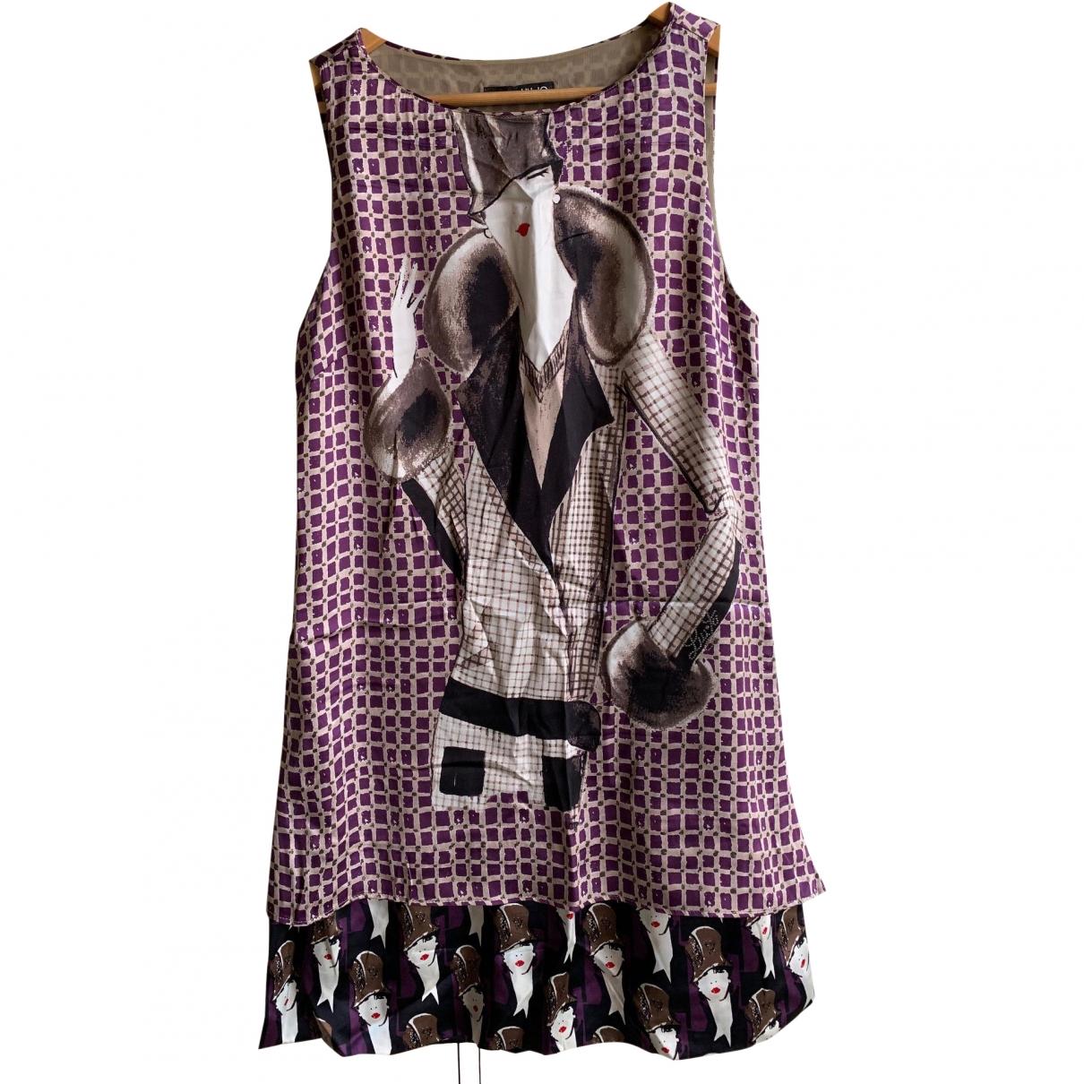 Liu.jo - Robe   pour femme en soie - multicolore
