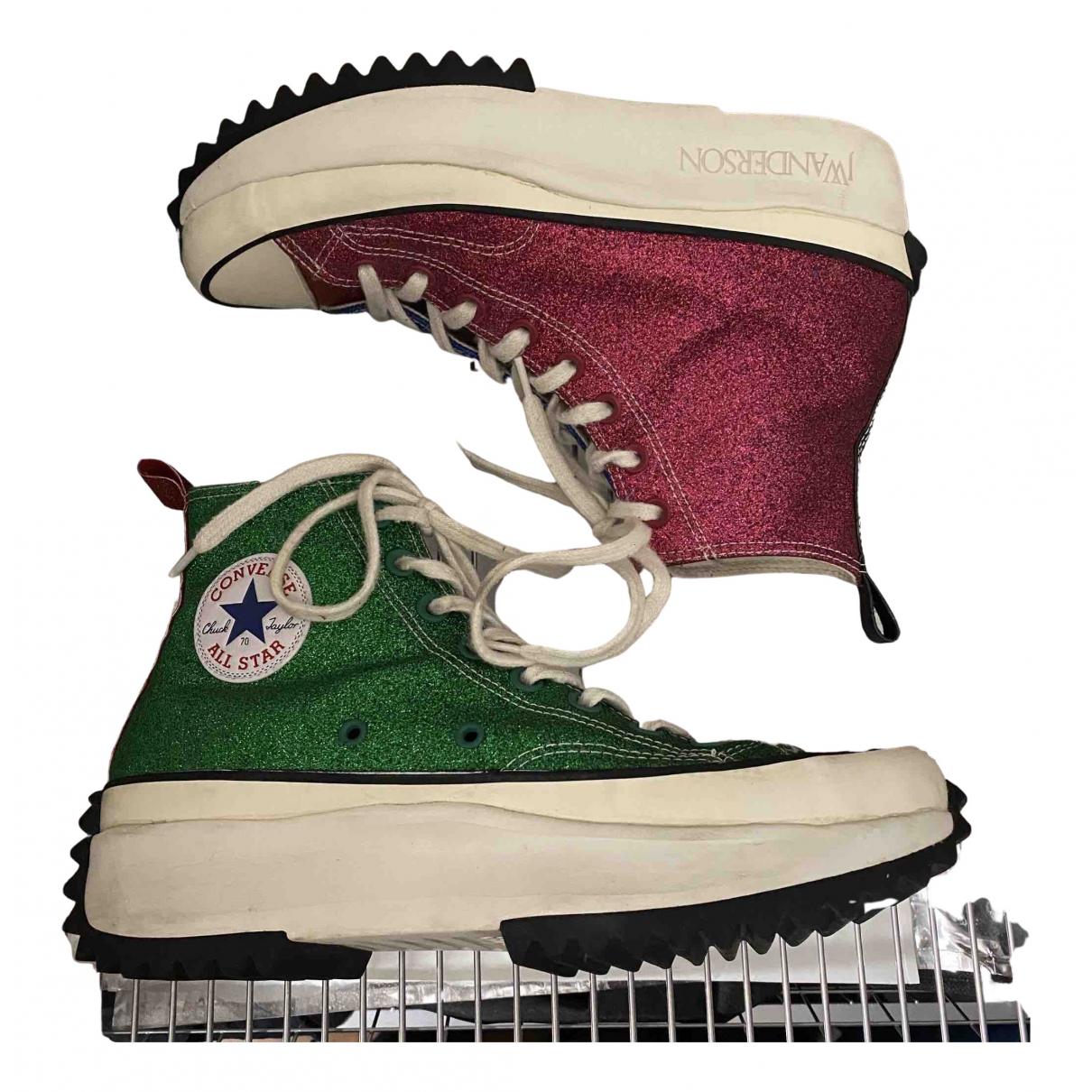 Converse X J.w Anderson \N Sneakers in  Bunt Mit Pailletten