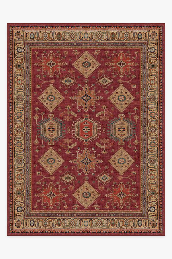 Washable Rug Cover | Cambria Ruby Rug | Stain-Resistant | Ruggable | 9'x12'