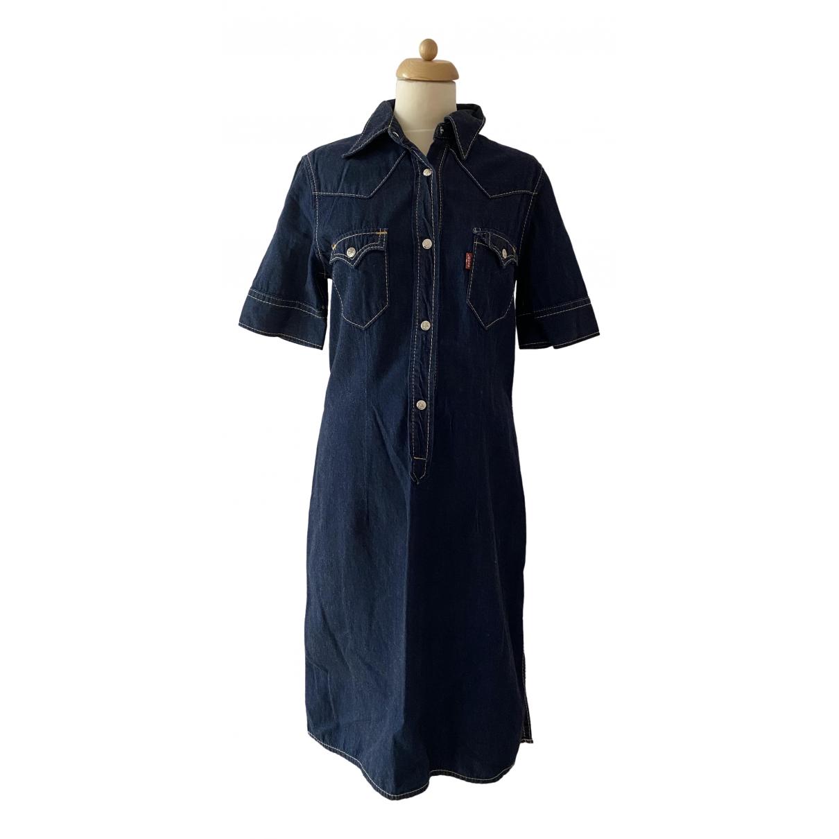 Levis \N Kleid in  Marine Denim - Jeans