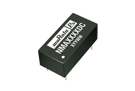Murata Power Solutions NMA 1W Isolated DC-DC Converter Through Hole, Voltage in 4.5 → 5.5 V dc, Voltage out ±12V
