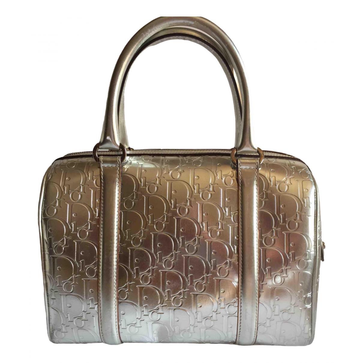 Dior \N Handtasche in  Metallic Leder