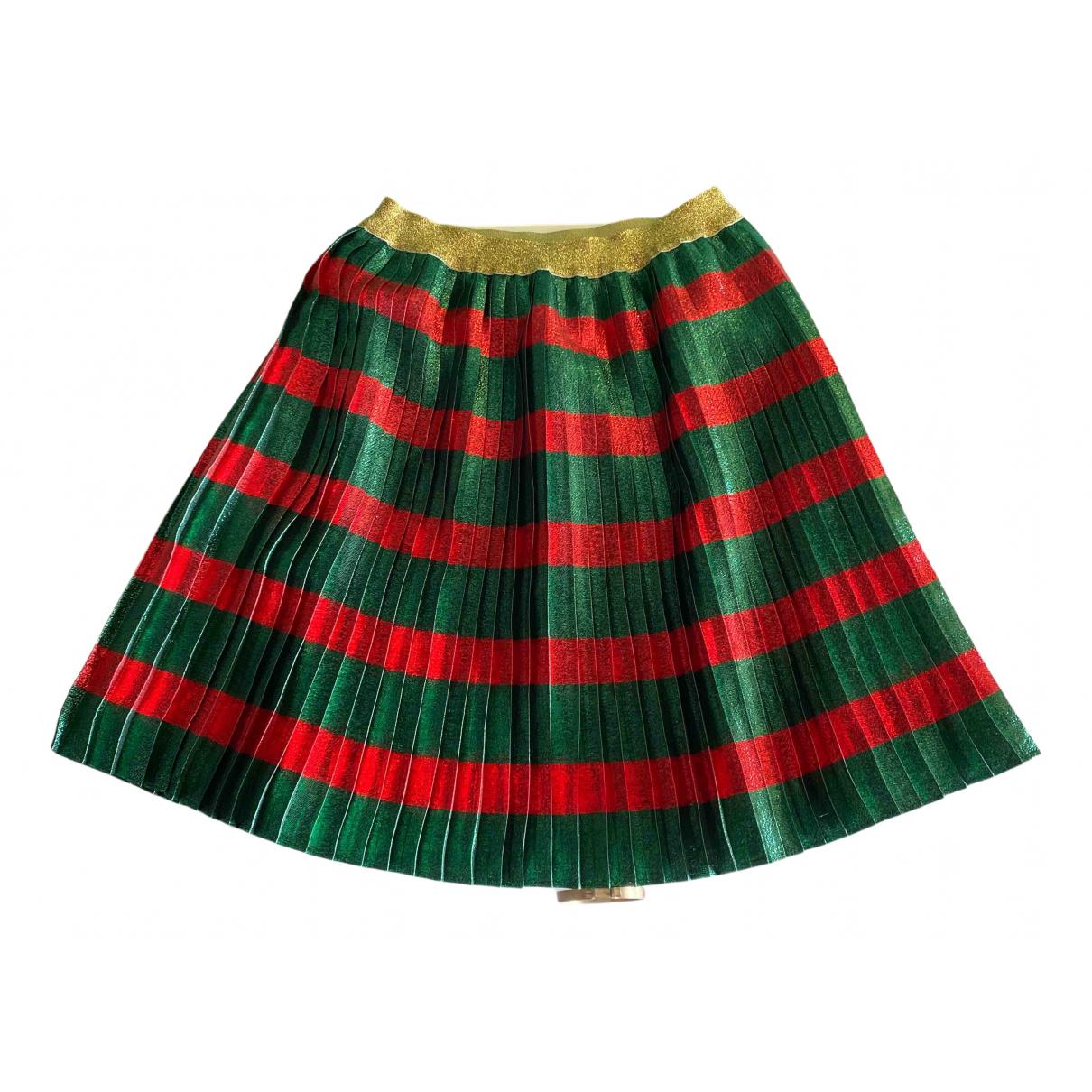 Gucci - Jupe   pour enfant en coton - multicolore