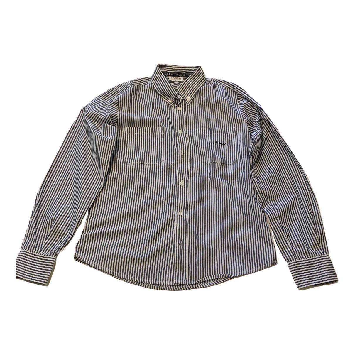 Byblos - Top   pour enfant en coton - bleu