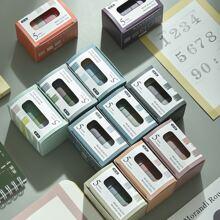 5rolls Random Solid Color DIY Tape