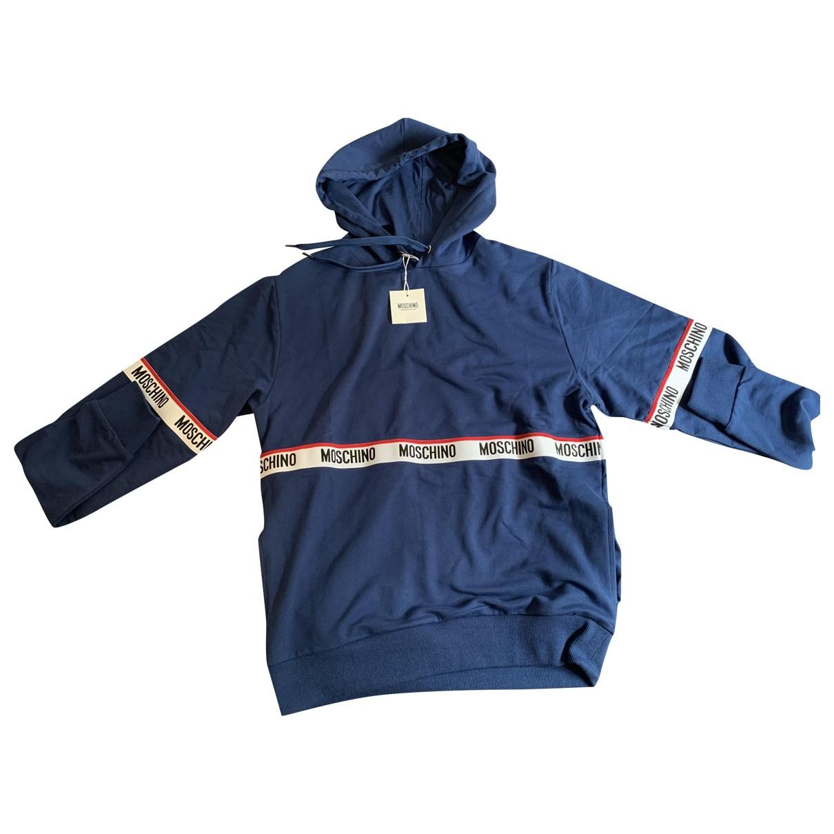 Moschino \N Pullover.Westen.Sweatshirts  in  Blau Kaschmir