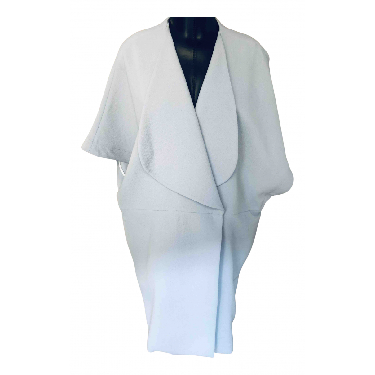 Roland Mouret - Manteau   pour femme en laine - bleu