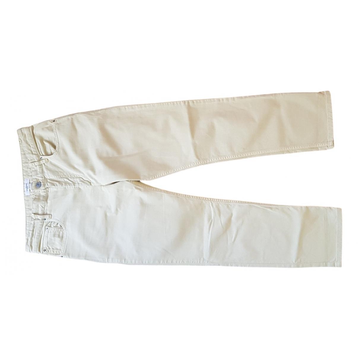 Isabel Marant Etoile - Pantalon   pour femme en coton - jaune