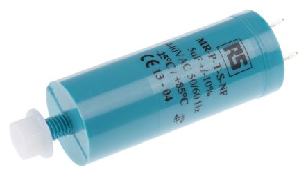 RS PRO 5μF Polypropylene Capacitor PP 440V ac ±10% Tolerance Screw Mount