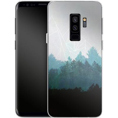Samsung Galaxy S9 Plus Silikon Handyhuelle - Woods Abstract von Mareike Bohmer