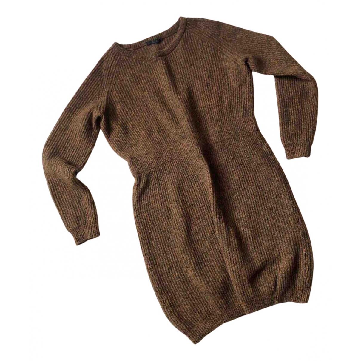Cos \N Kleid in  Braun Wolle