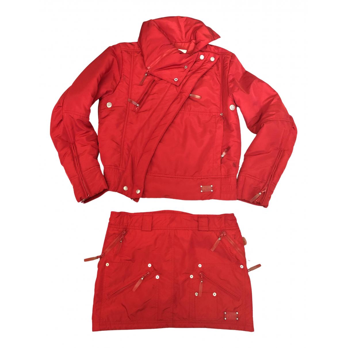 Dior - Veste   pour femme - rouge