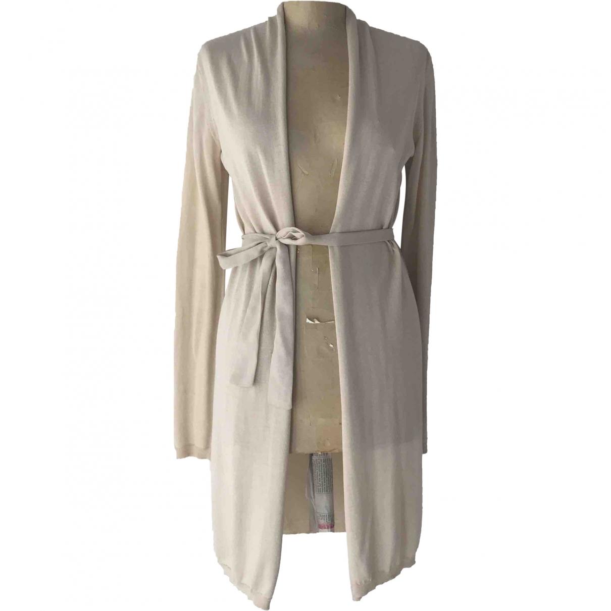 Jucca \N Beige Cotton Knitwear for Women S International