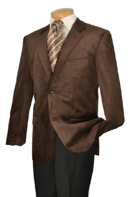 Mens High Fashion Fine Slim Fit velvetsportcoat