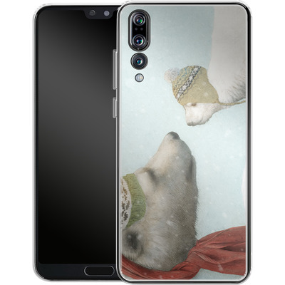 Huawei P20 Pro Silikon Handyhuelle - First Winter von Eric Fan