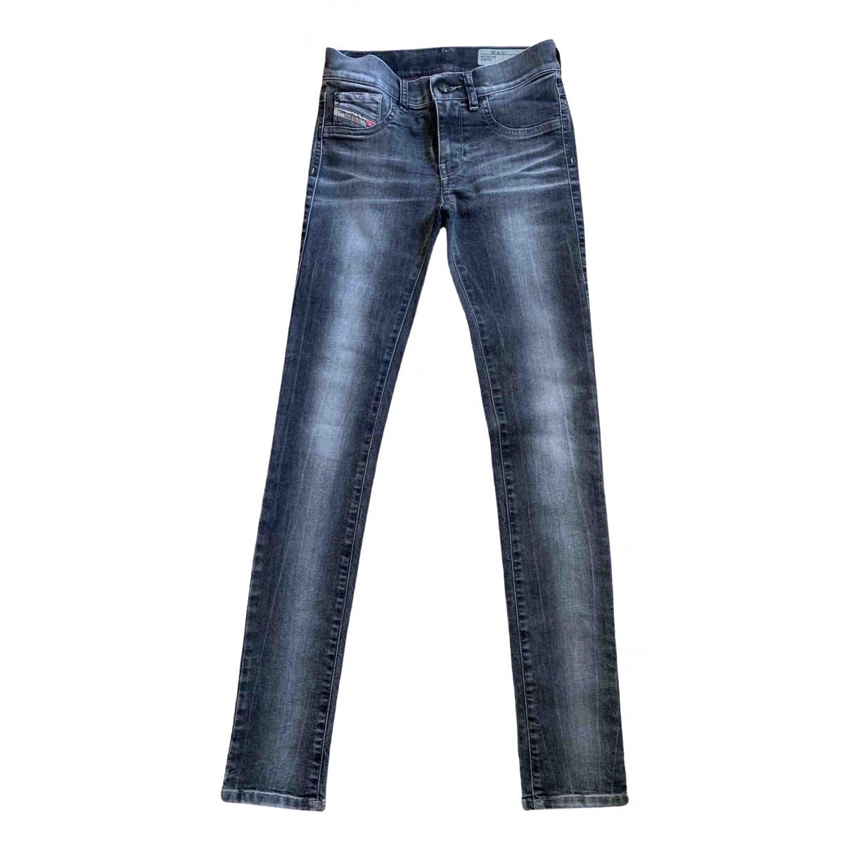 Diesel \N Grey Cotton - elasthane Jeans for Women 25 US