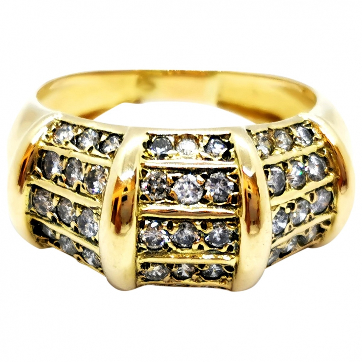 Autre Marque \N Gold Yellow gold ring for Women 58 MM