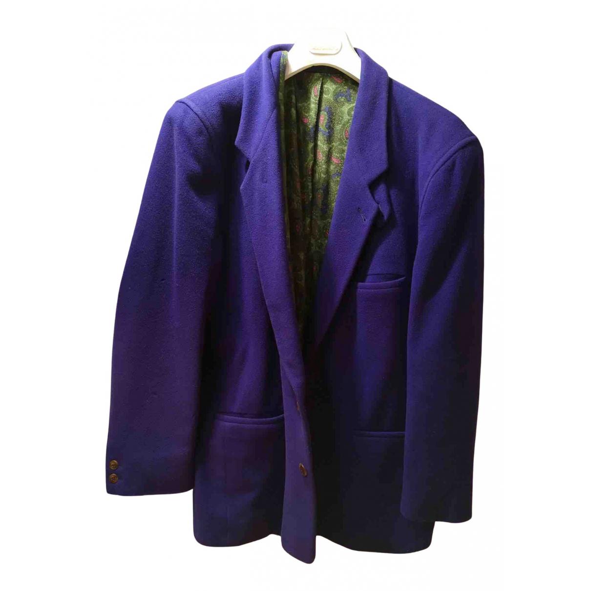 Boss - Vestes.Blousons   pour homme en cachemire - violet