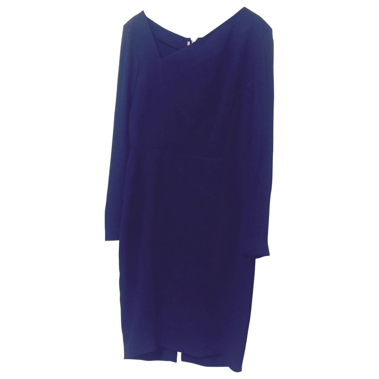 Roland Mouret \N Kleid in  Lila Synthetik