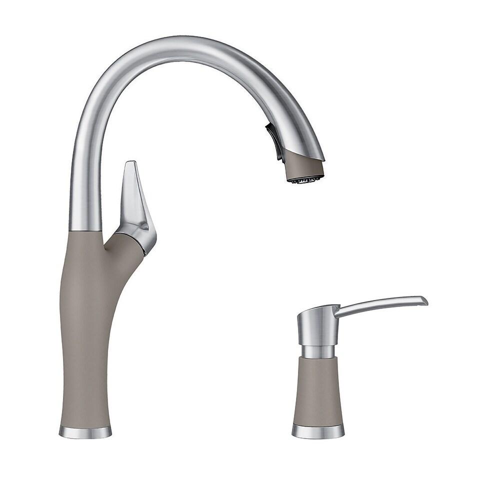 Blanco KF-442027 Artona Pull-Down Kitchen Faucet with Soap Dispenser - 2