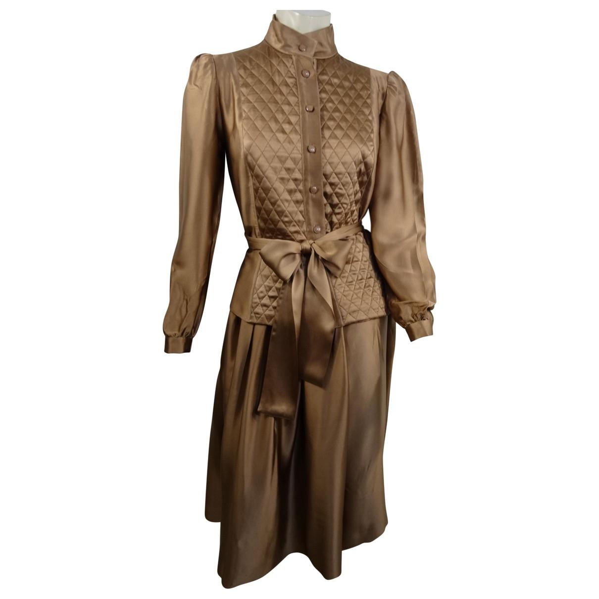 Nina Ricci \N Beige Silk jumpsuit for Women 40 FR