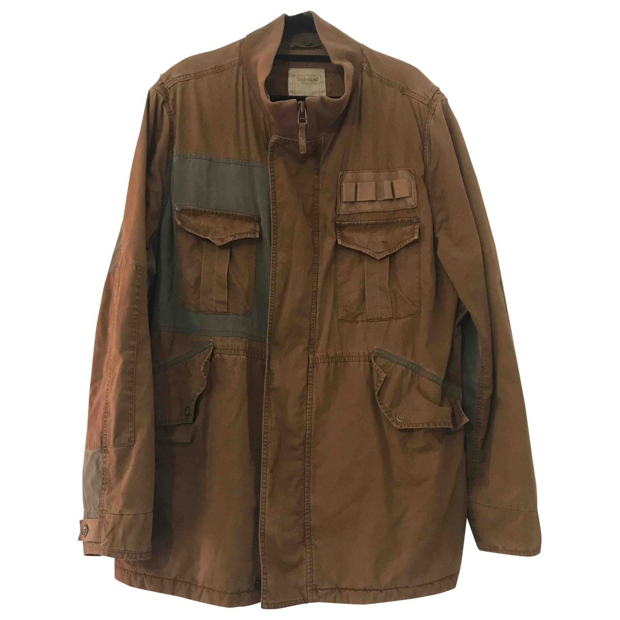 Timberland \N Brown Cotton jacket  for Men XXL International