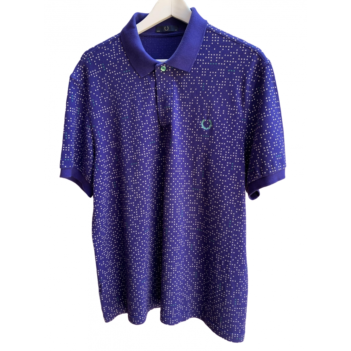 Fred Perry \N Poloshirts in  Lila Baumwolle