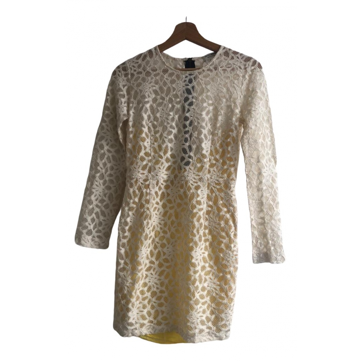 Roseanna - Robe   pour femme en dentelle - ecru