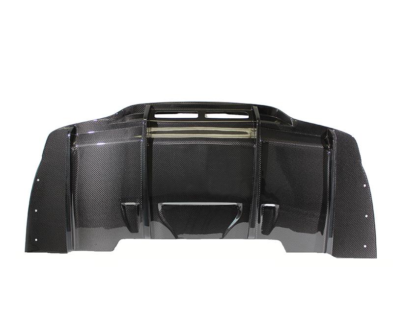 PSM Dynamic MSR07V1CF Rear Diffuser  Mercedes C63 AMG W205 Sedan 15-20
