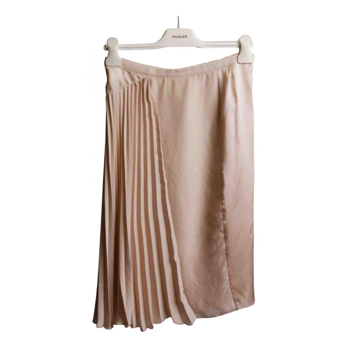 Nina Ricci - Jupe   pour femme en soie - rose