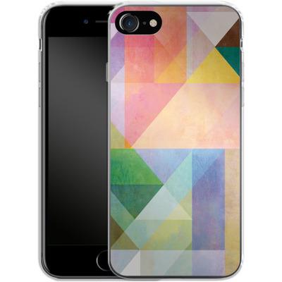 Apple iPhone 8 Silikon Handyhuelle - Color Blocking 1 von Mareike Bohmer