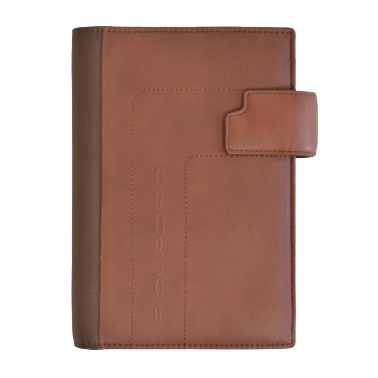 - Objets & Deco   pour lifestyle en cuir - marron
