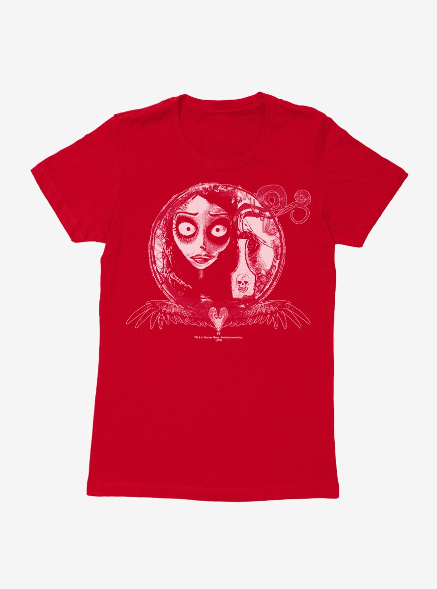 Corpse Bride Emily Poison Womens T-Shirt