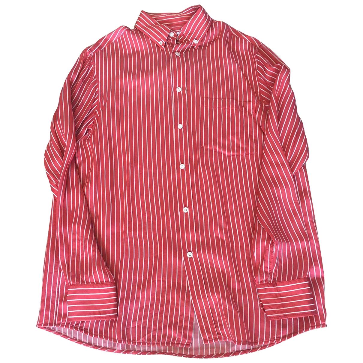 Balenciaga \N Top in  Rot Baumwolle