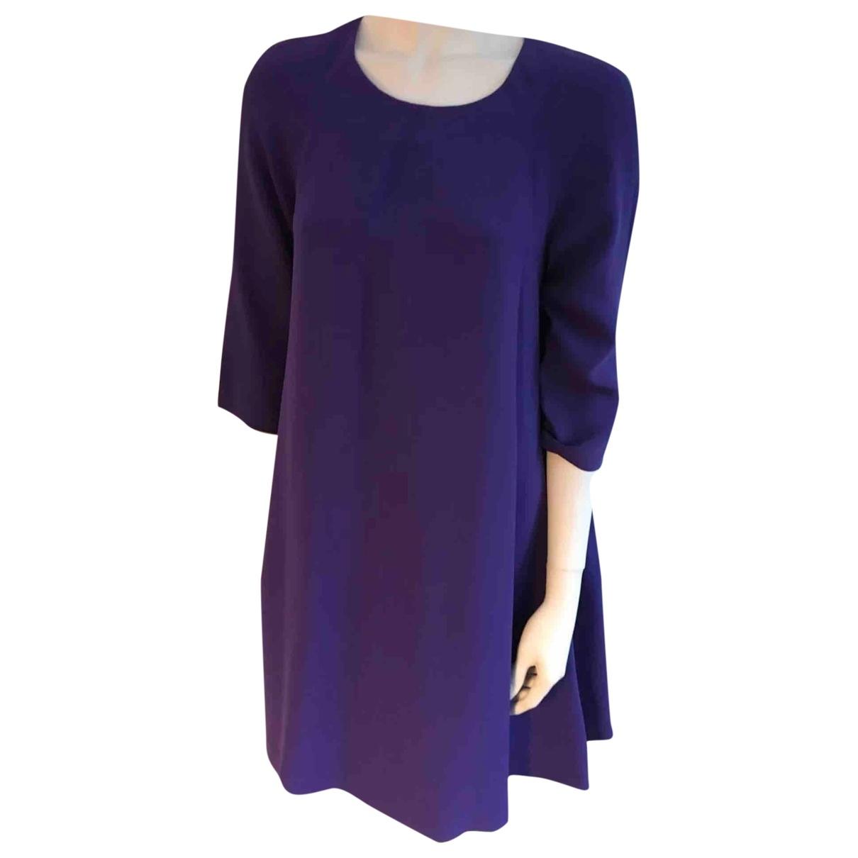 Mini vestido de Seda Lisa Perry