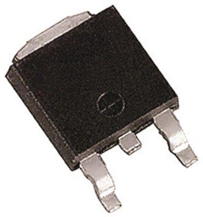 Taiwan Semiconductor N-Channel MOSFET, 1.85 A, 1000 V, 3 + Tab-Pin DPAK Taiwan Semi TSM2N100CP ROG (2500)