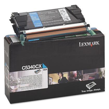 Lexmark C5340CX Original Cyan Return Program Toner Cartridge Extra High Yield